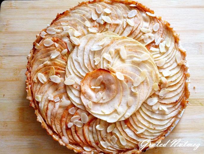 Apple-Tamarind Tart