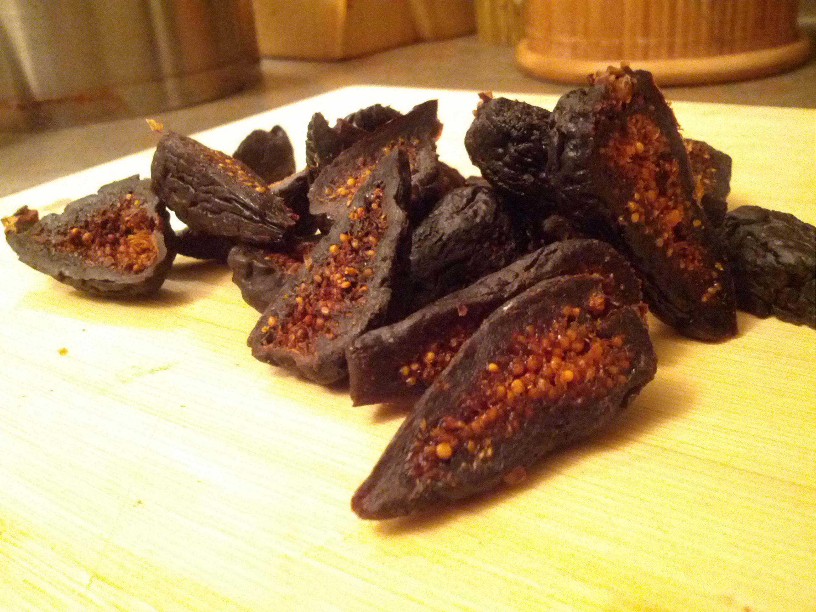 spiced caramelized figs spiced honey cake caramelized spiced honey ...