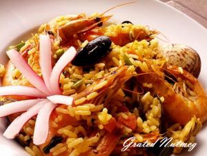 Fried Seafood Rice