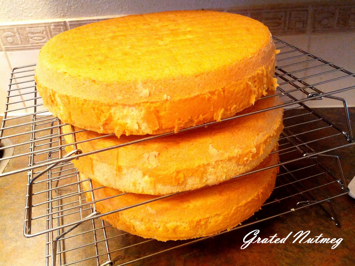 French Vanilla Sponge Cake – Grated Nutmeg