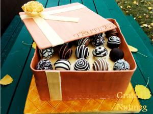 box of truffles cake 4