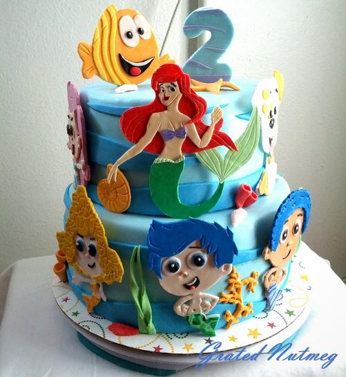Bubble Guppie Cake Images