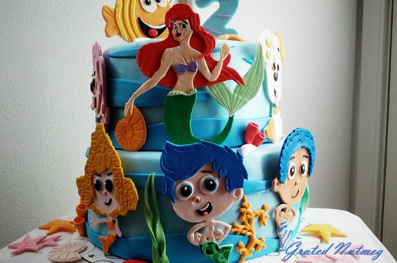 2d Fondant Characters Grated Nutmeg