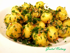 Herb and Cheese Potato