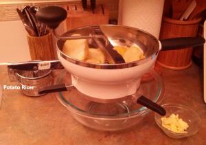 Food Meal and Potato Ricer
