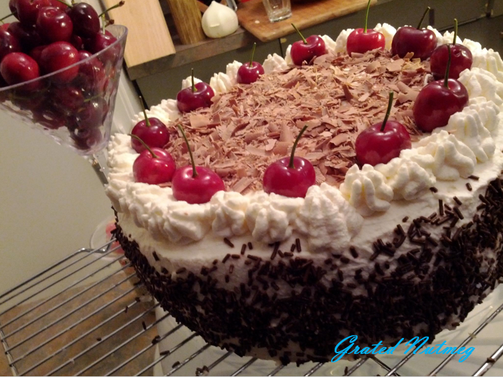 Black Forest Cake Ingredients And Procedure