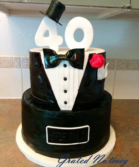 How To Make A Tuxedo Cupcake Cake