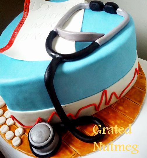 Medical Heart Cake Grated Nutmeg