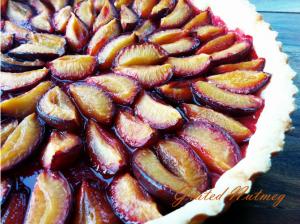 Prun plum Tart