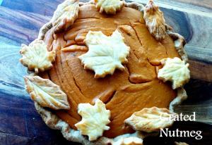 butternut sqash-sweet potato pie