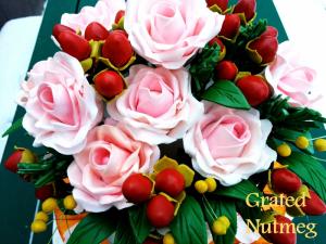 bouquet cake 2