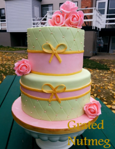 pink and green cake 2
