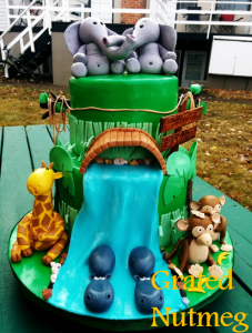 safari cake 1