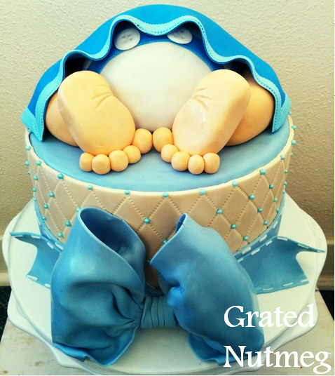 Baby Rump Cake Images : Fondant Bow Tutorial   Grated Nutmeg
