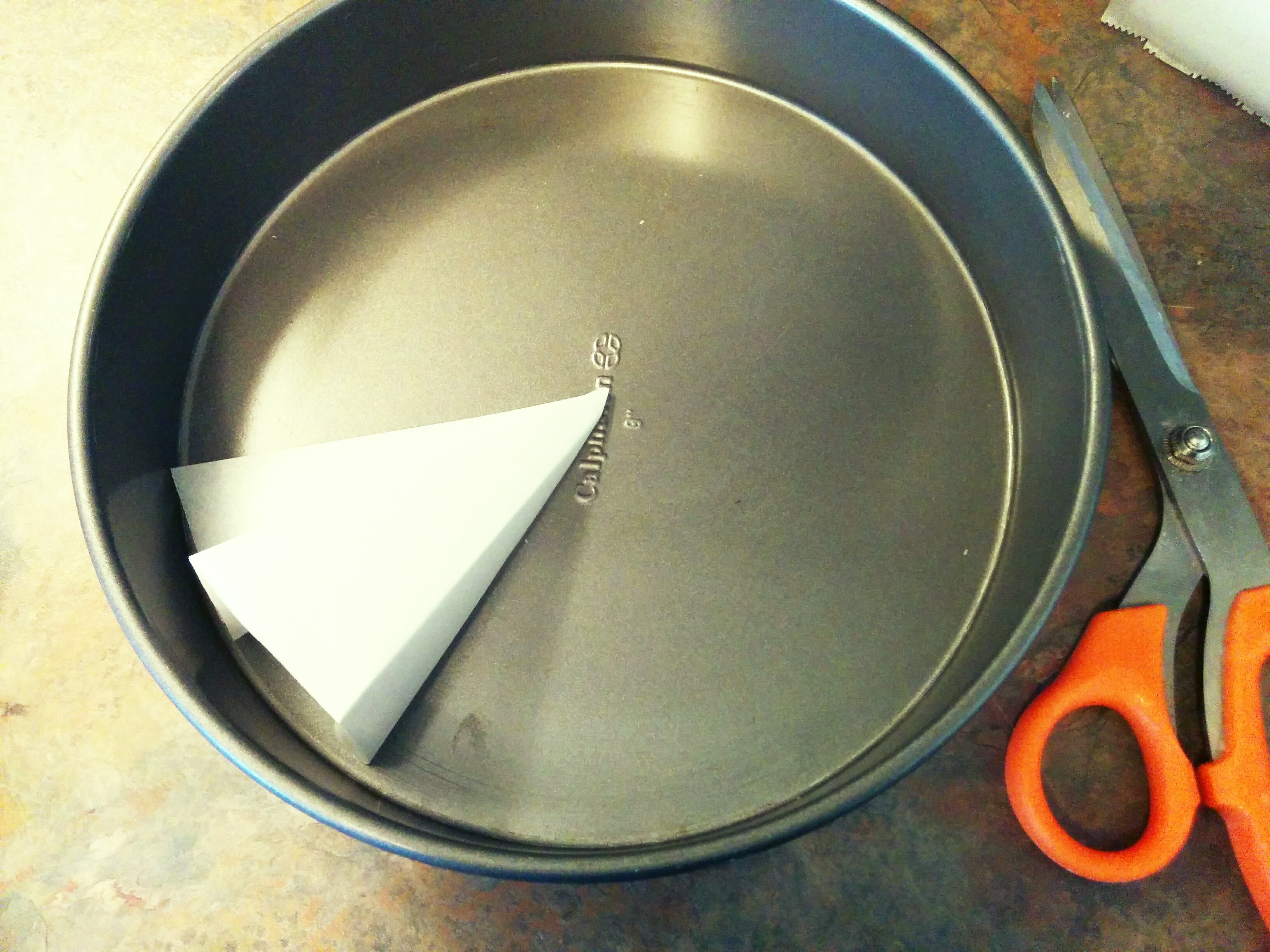 How To Line And Grease Cake Pans Grated Nutmeg