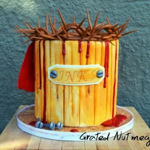 Crucifixion Cake