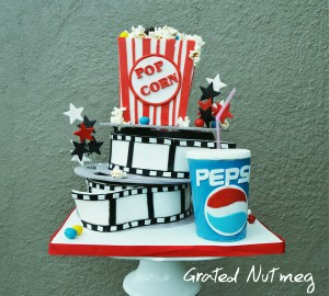 Cinema Reel Cake