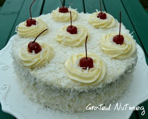Desserts grated nutmeg for Different types of cakes recipes with pictures
