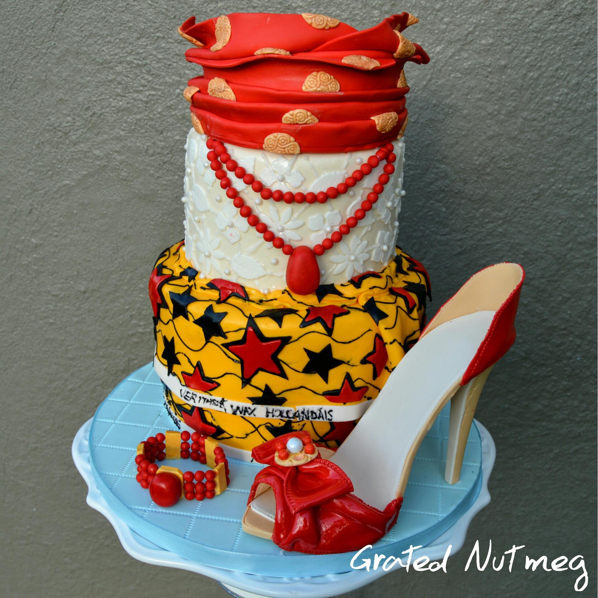 Naija Cake: Dressed Igbo Woman Cake
