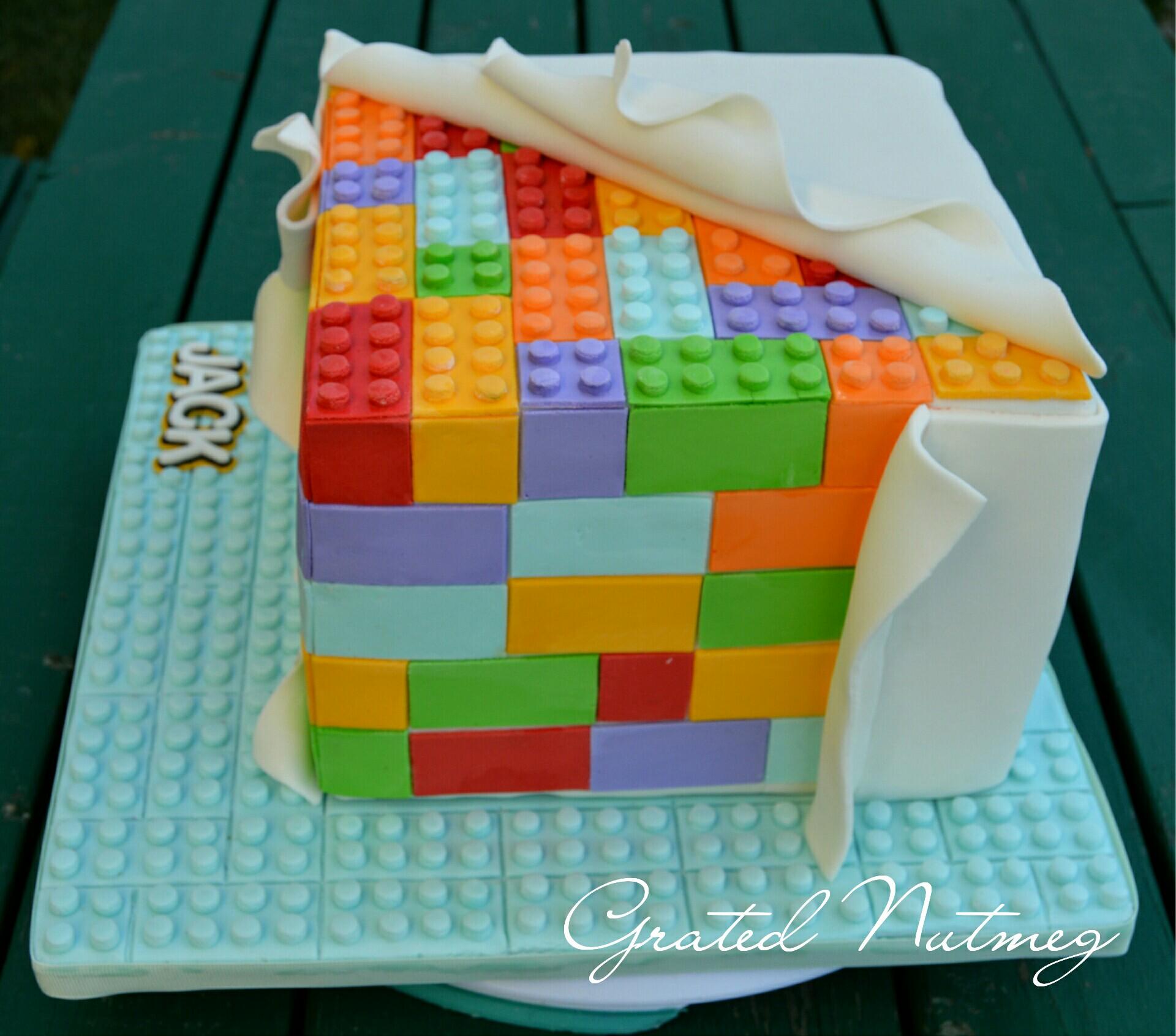 Lego Cakes Grated Nutmeg