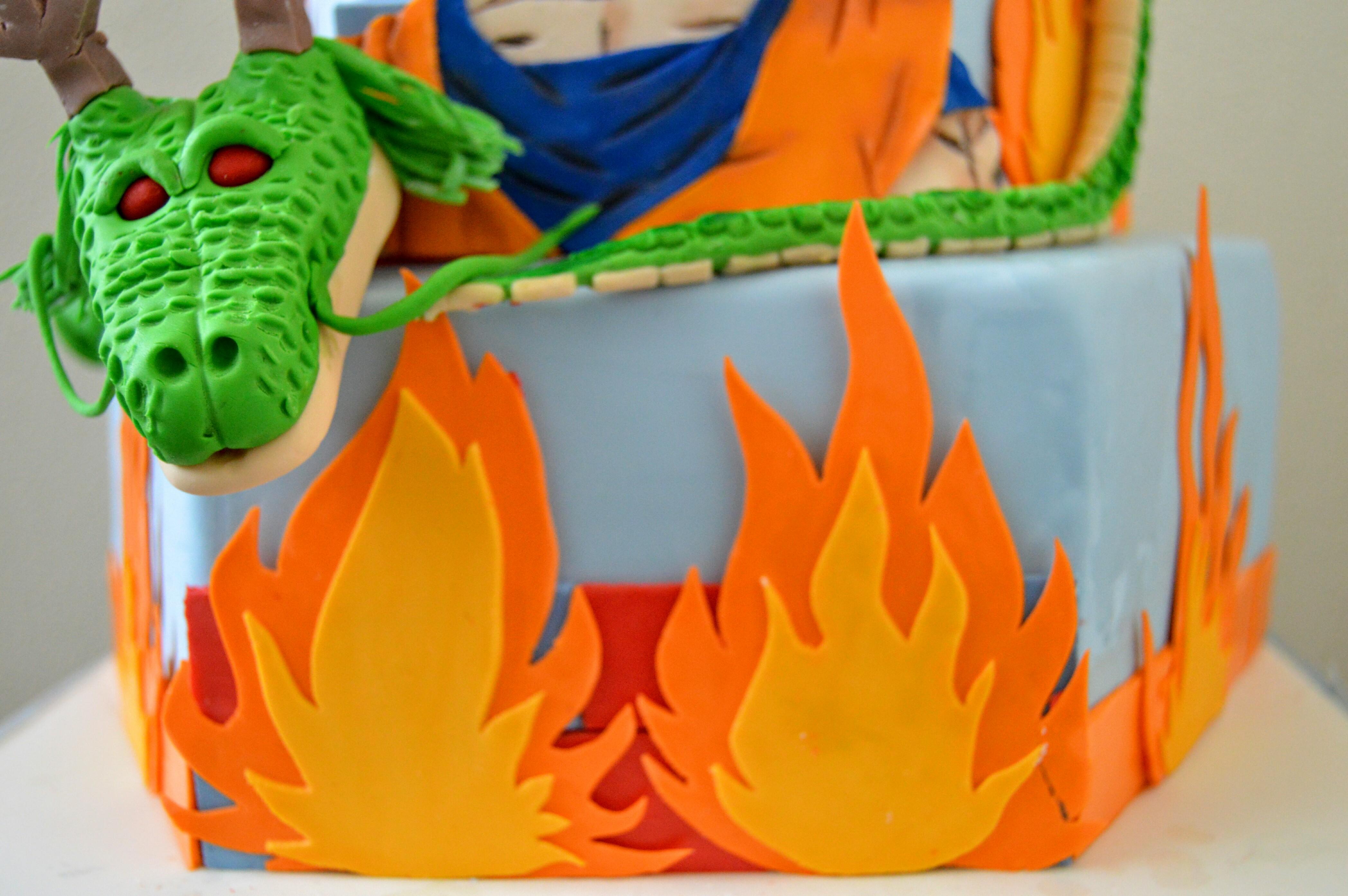 Dragon Ball Z Cake Grated Nutmeg