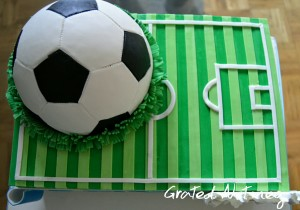 Football Cake 2 Grated Nutmeg