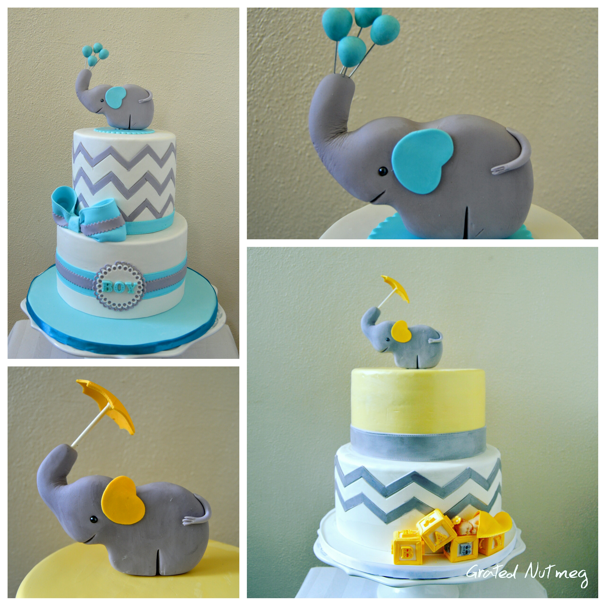 Fondant Elephant Cake Topper Tutorial