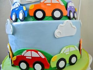 Cars Cake Grated Nutmeg