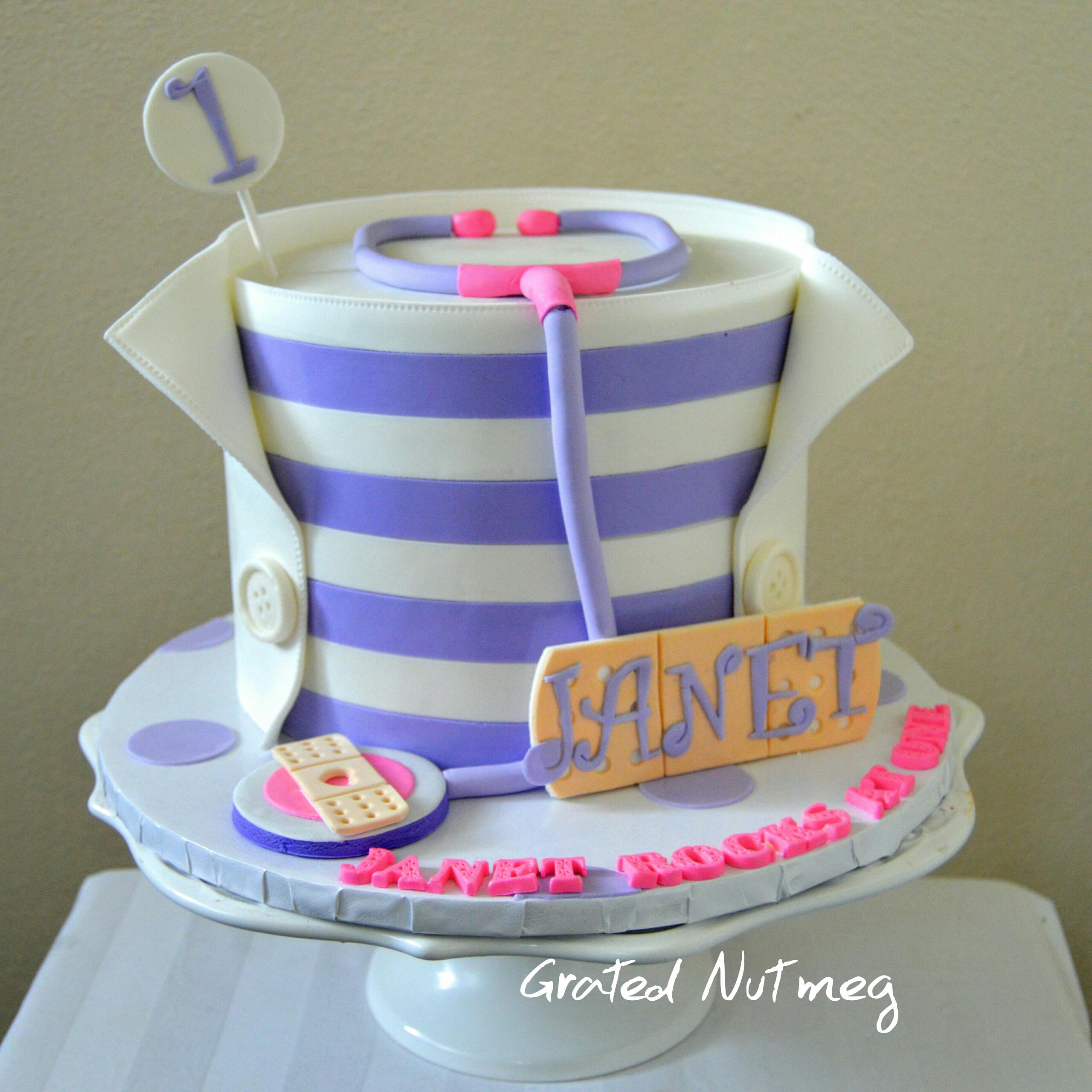 Doc Mcstuffins Cake Grated Nutmeg