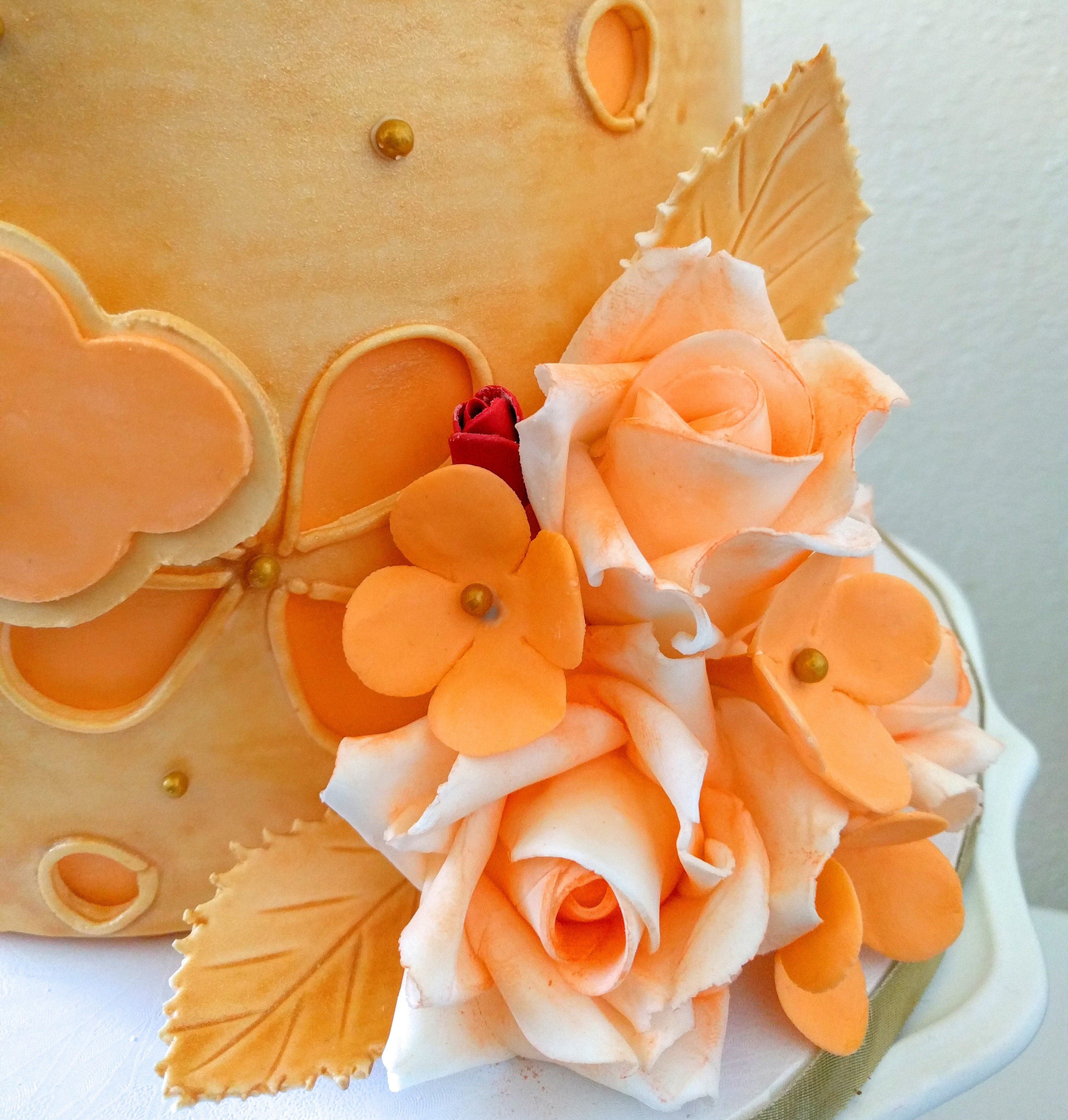 Fondant Blossom Flowers Without Molds Or Cutters Grated Nutmeg