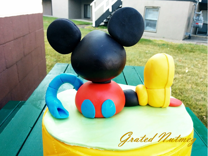 Mickey Mouse Clubhouse Cake Topper Pictorial Grated Nutmeg